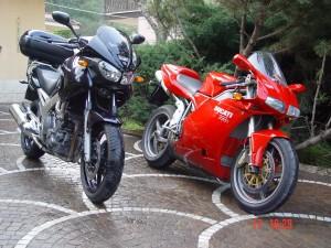 Yamaha TDM900 - Ducati superbike 998S
