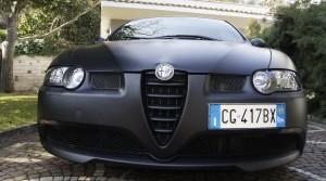 """Alfa Romeo 147 GTA preparata e riverniciata """"Nero matte"""""""