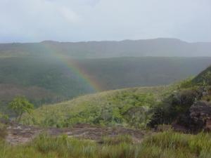 Un arcobaleno all'orizzonte