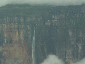 Salto Angel visto dall'aereo